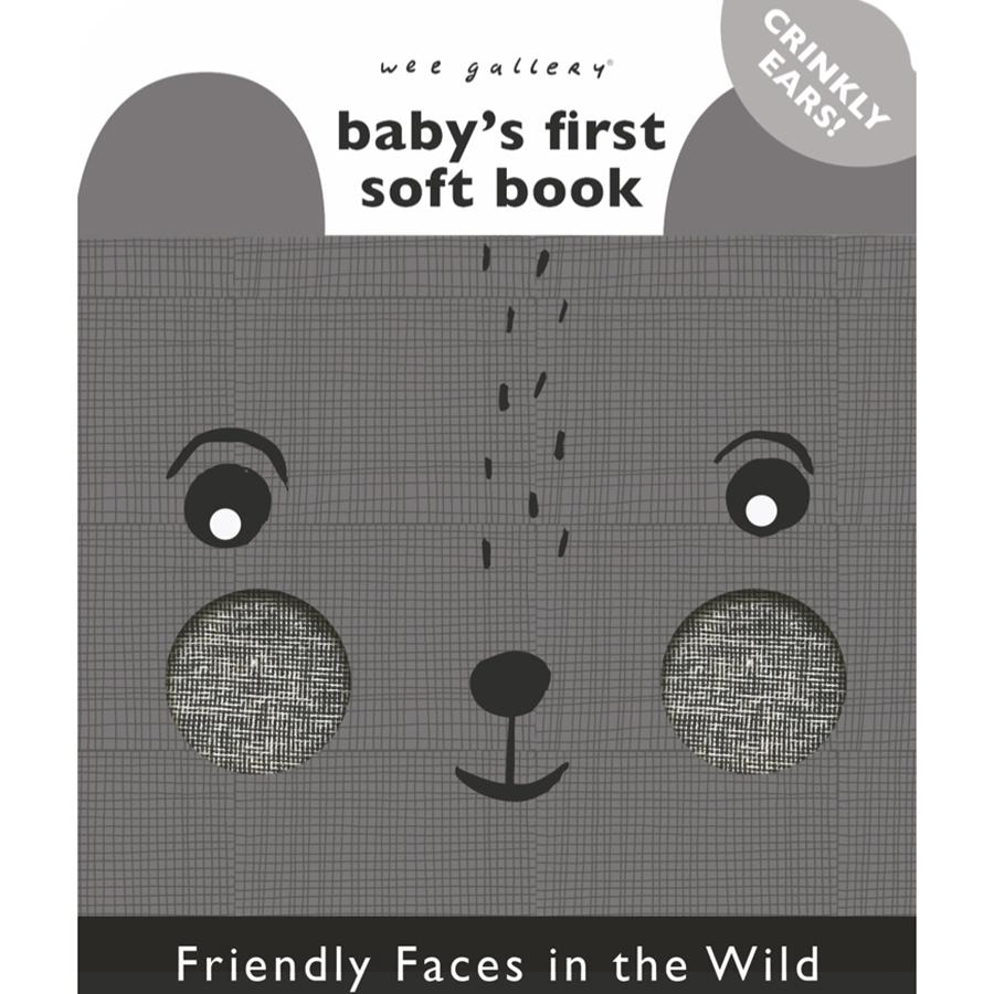 "Stoffbuch ""Friendly Faces in the Wild"""