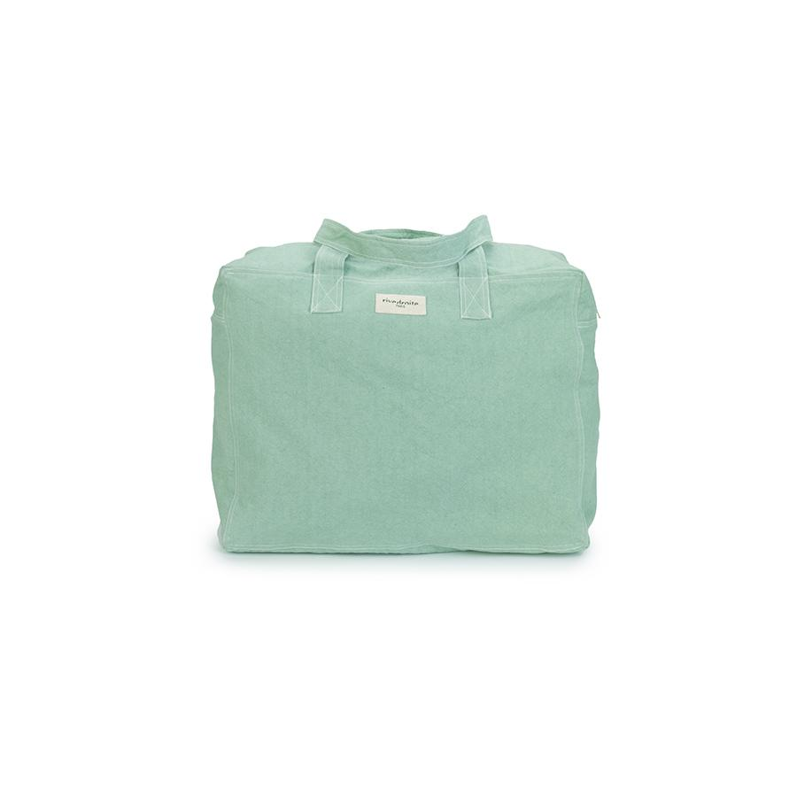 "Weekend Bag ""Elzevir Green Matcha Latte"""