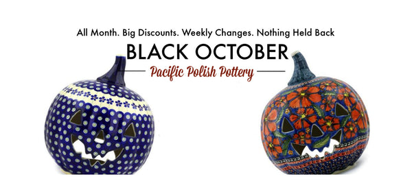 Polish Pottery Black Friday Sale