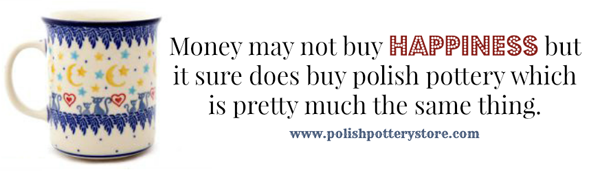 www.polishpotterystore.com Pacific Polish Pottery