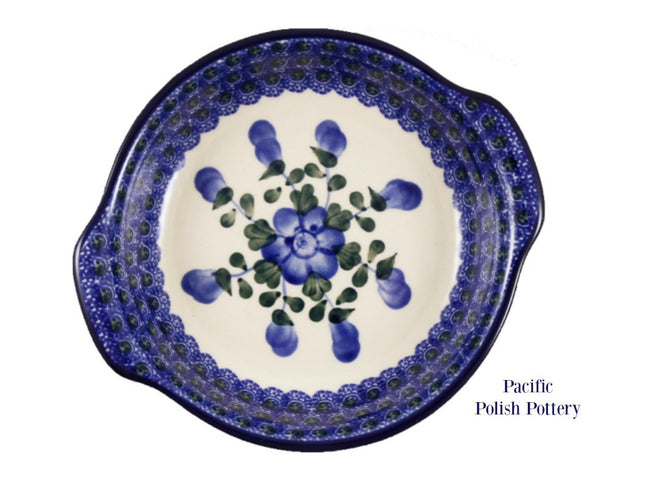 Round Handled Baker - Pacific Polish Pottery  - 2