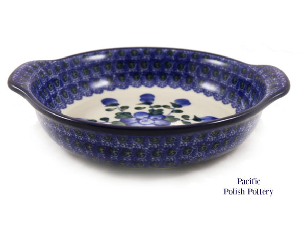 Round Handled Baker - Pacific Polish Pottery  - 3