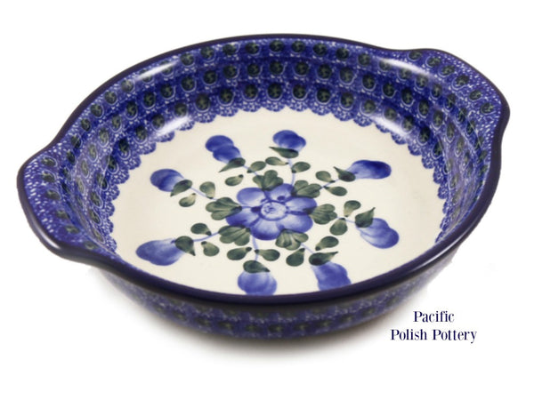 Round Handled Baker - Pacific Polish Pottery  - 1