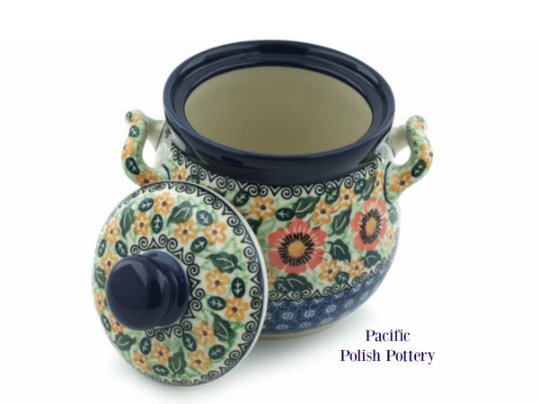 Unikat Kitchen Canister - Pattern u1297 - Pacific Polish Pottery  - 2