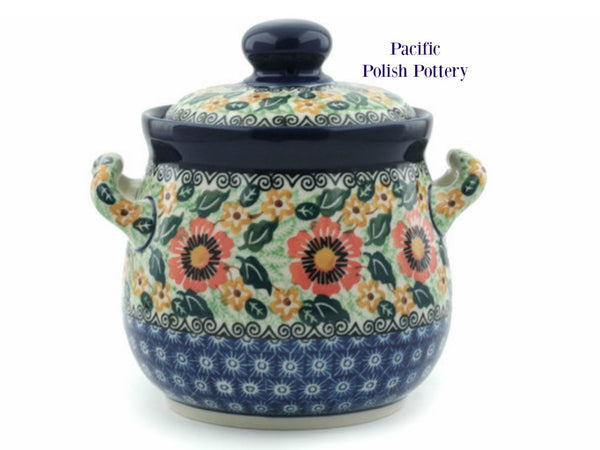 Unikat Kitchen Canister - Pattern u1297 - Pacific Polish Pottery  - 1
