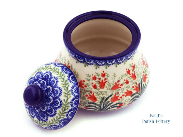 Kitchen Canister - Polish Pottery Pattern 1437 - Pacific Polish Pottery  - 2