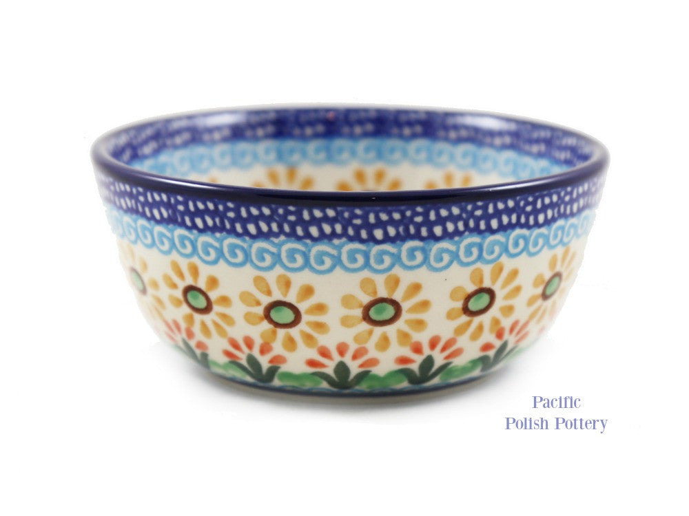 Small Bowl - Polish Pottery Pattern 915 - Pacific Polish Pottery  - 4