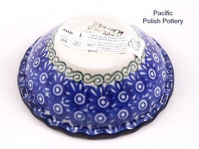 Tart Ruffled Ramekin Bowl - Pacific Polish Pottery  - 4