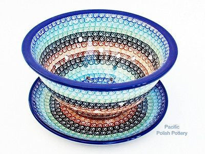Berry Bowl Colander Set - Pacific Polish Pottery  - 1