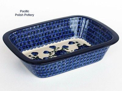 Baker with Lip - Pacific Polish Pottery  - 1