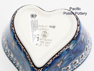 Unikat Heart Baker Bowl - Pacific Polish Pottery  - 4