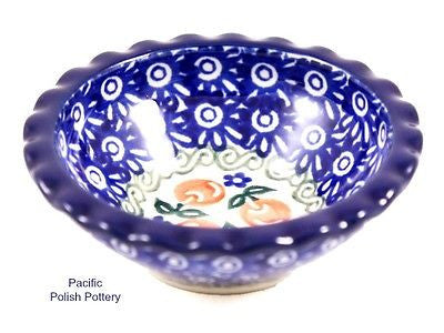 Tart Ruffled Ramekin Bowl - Pacific Polish Pottery  - 1