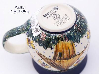 Unikat 11oz Mug - Pattern u4251 - Pacific Polish Pottery  - 4