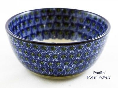 Small Bowl - Polish Pottery Pattern 163 - Pacific Polish Pottery  - 4