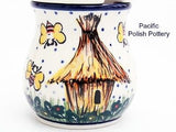 Unikat Sugar Spice or Honey Jar - Pacific Polish Pottery  - 3