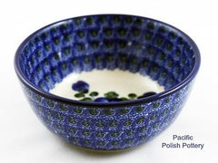 Small Bowl - Polish Pottery Pattern 163 - Pacific Polish Pottery  - 3