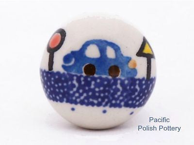 Drawer Pull Knob - Pacific Polish Pottery  - 3