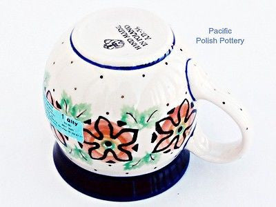 8oz Ladies Bubble Mug - Pacific Polish Pottery  - 4