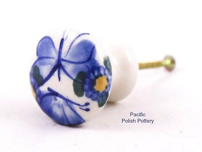 Drawer Pull Knob - Pacific Polish Pottery  - 1