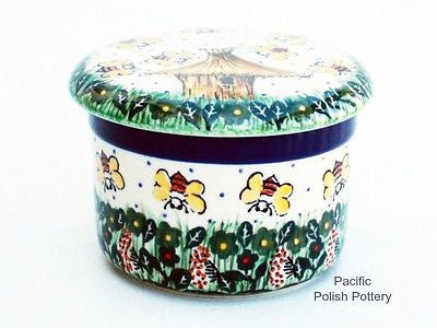Unikat Butter Keeper Dish - Pacific Polish Pottery  - 1