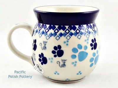 8oz Ladies Bubble Mug - Pacific Polish Pottery  - 1