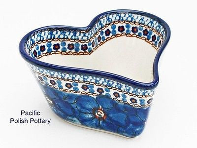 Unikat Heart Baker Bowl - Pacific Polish Pottery  - 1