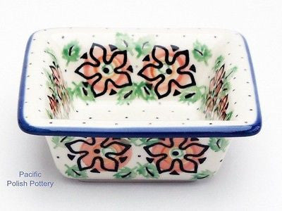 Square Side Bowl - Pattern 815 - Pacific Polish Pottery