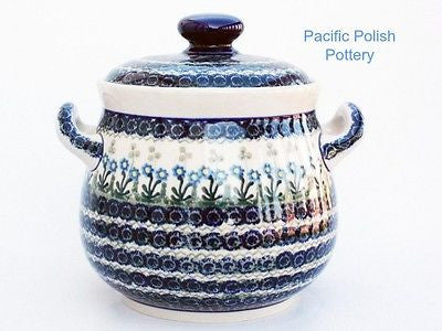 Pot Belly Canister or Tureen - Pacific Polish Pottery  - 1