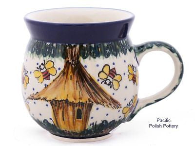 Unikat 11oz Mug - Pattern u4251 - Pacific Polish Pottery  - 1