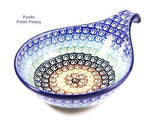 Handled Condiment Bowl - Pacific Polish Pottery  - 1