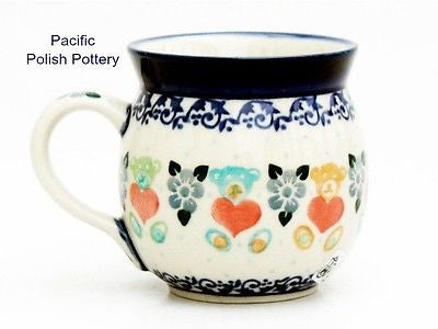8oz Ladies Bubble Mug - Pacific Polish Pottery