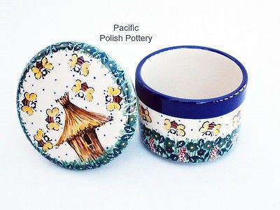 Unikat Butter Keeper Dish - Pacific Polish Pottery  - 4
