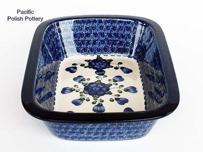 Baker with Lip - Pacific Polish Pottery  - 2