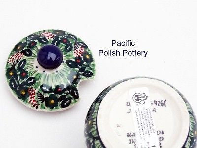 Unikat Sugar Spice or Honey Jar - Pacific Polish Pottery  - 4