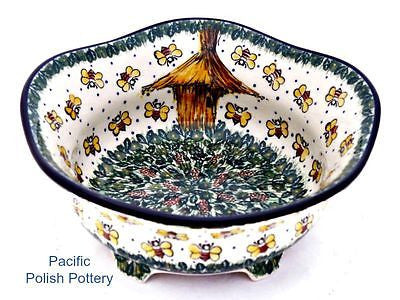 Unikat Footed Bowl - Pacific Polish Pottery  - 1