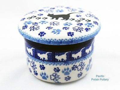 Butter Keeper Dish - Pacific Polish Pottery  - 1