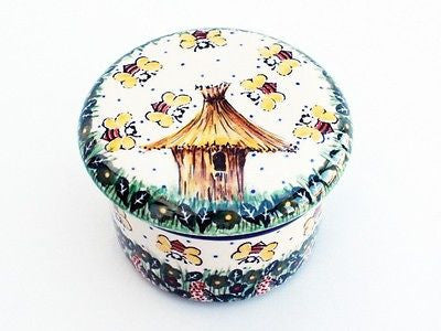 Unikat Butter Keeper Dish - Pacific Polish Pottery  - 3