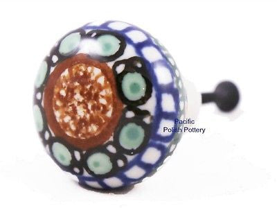 Unikat Drawer Pull Knob - Pacific Polish Pottery  - 1
