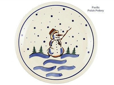 "10.75"" Dinner Plate - Pacific Polish Pottery"
