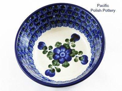 Small Bowl - Polish Pottery Pattern 163 - Pacific Polish Pottery  - 2