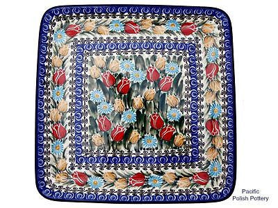 Unikat Square Plate or Tray - Pacific Polish Pottery  - 1
