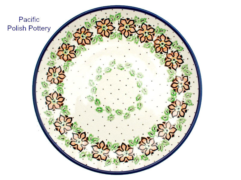 "Polish Pottery 10.5"" Dinner Plate - Pacific Polish Pottery"