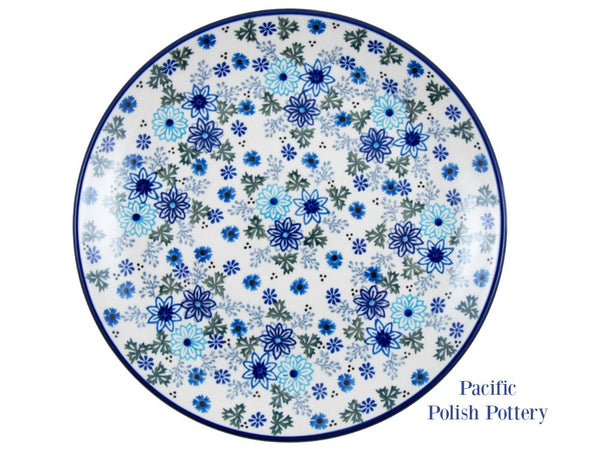 "Unikat 10.5"" Plate - Pacific Polish Pottery"