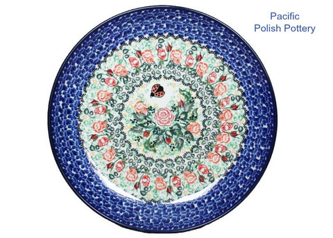 "Unikat 10.5"" Dinner Plate - Pacific Polish Pottery"