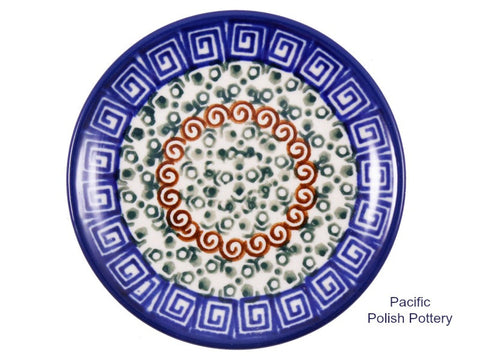 Mini Plate 50 - Pacific Polish Pottery