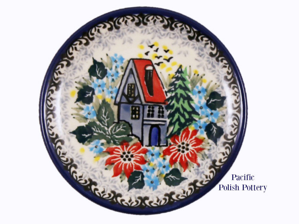 Unikat Mini Plate - Pattern u4026 - Pacific Polish Pottery
