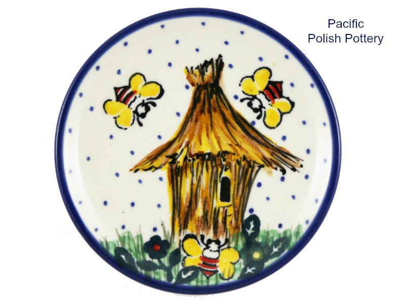Unikat Mini Plate u4251 - Pacific Polish Pottery
