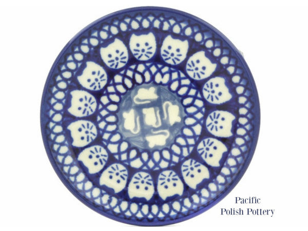 Unikat Mini Plate - Pattern u9967 - Pacific Polish Pottery