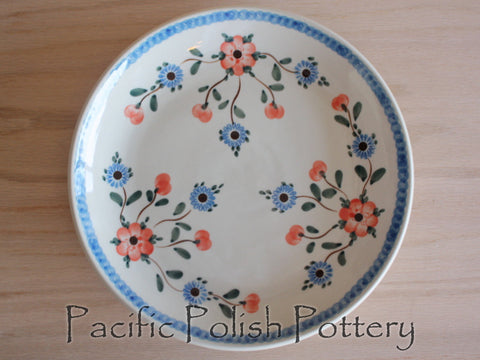"9.25"" Lunch Plate - Pacific Polish Pottery"