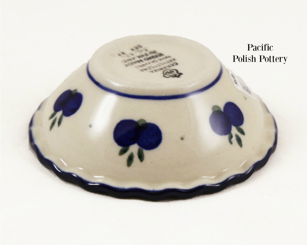 Tart Ruffled Ramekin Bowl - Pattern 67a - Pacific Polish Pottery  - 4